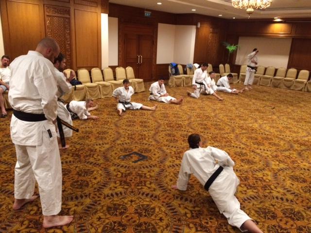 Karate WM Vorbereitung